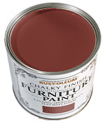 RustOleum Chalky Finish Furniture Paint Chalky Finish Furniture  Fire Brick 0.125L tester pot