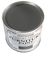 RustOleum Chalky Finish Furniture Paint Chalky Finish Furniture  Graphite 0.125L tester pot