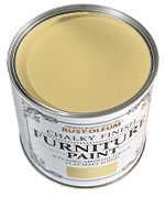 RustOleum Chalky Finish Furniture Paint Chalky Finish Furniture  Mustard 0.125L tester pot