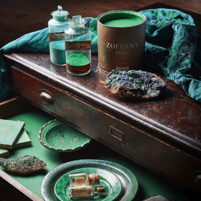 Zoffany Paint Pots Detail