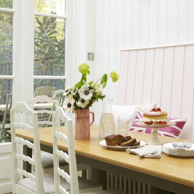 Mylands Paint Kitchen Palmerston Pink