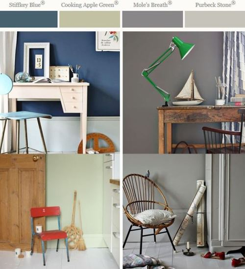 Farrow & Ball announce key paint colours for 2014!