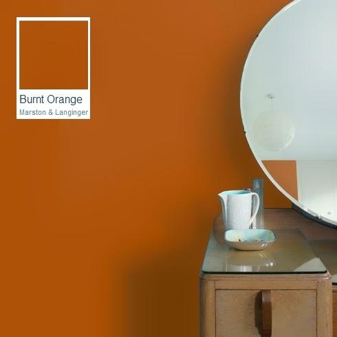 New Trend Alert - Burnt Orange