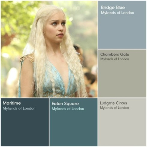 The Paint of Choice for Games of Thrones!