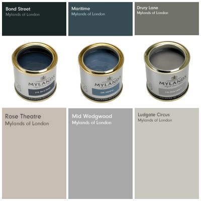 Mylands announce their Autumn/Winter colour palette