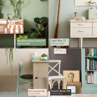 Farrow & Ball announce their key colours of 2015