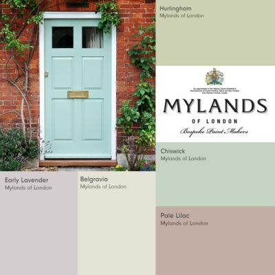 Mylands paints have announced their cool colour palette for Spring-Summer 2015