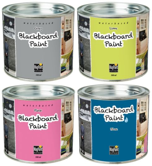 New range of blackboard paints