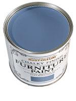 Blue Silk Paint