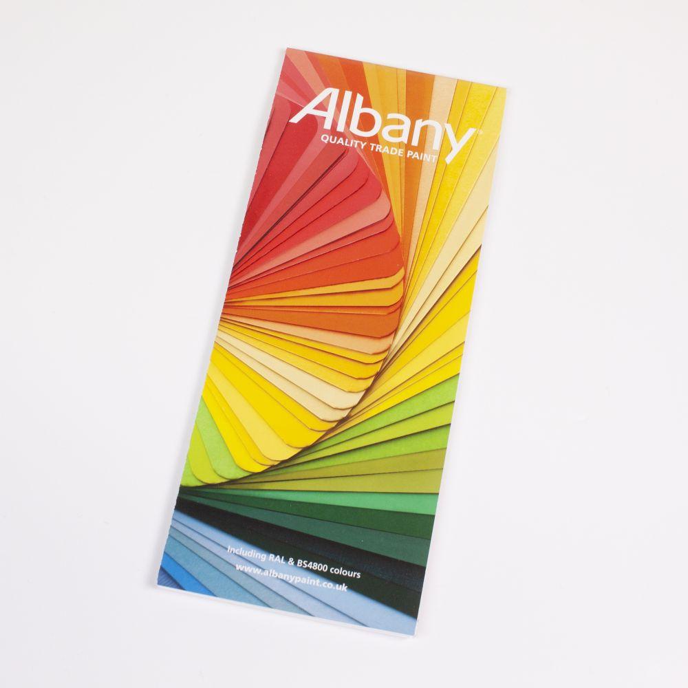 Albany Smooth Masonry Colour Card