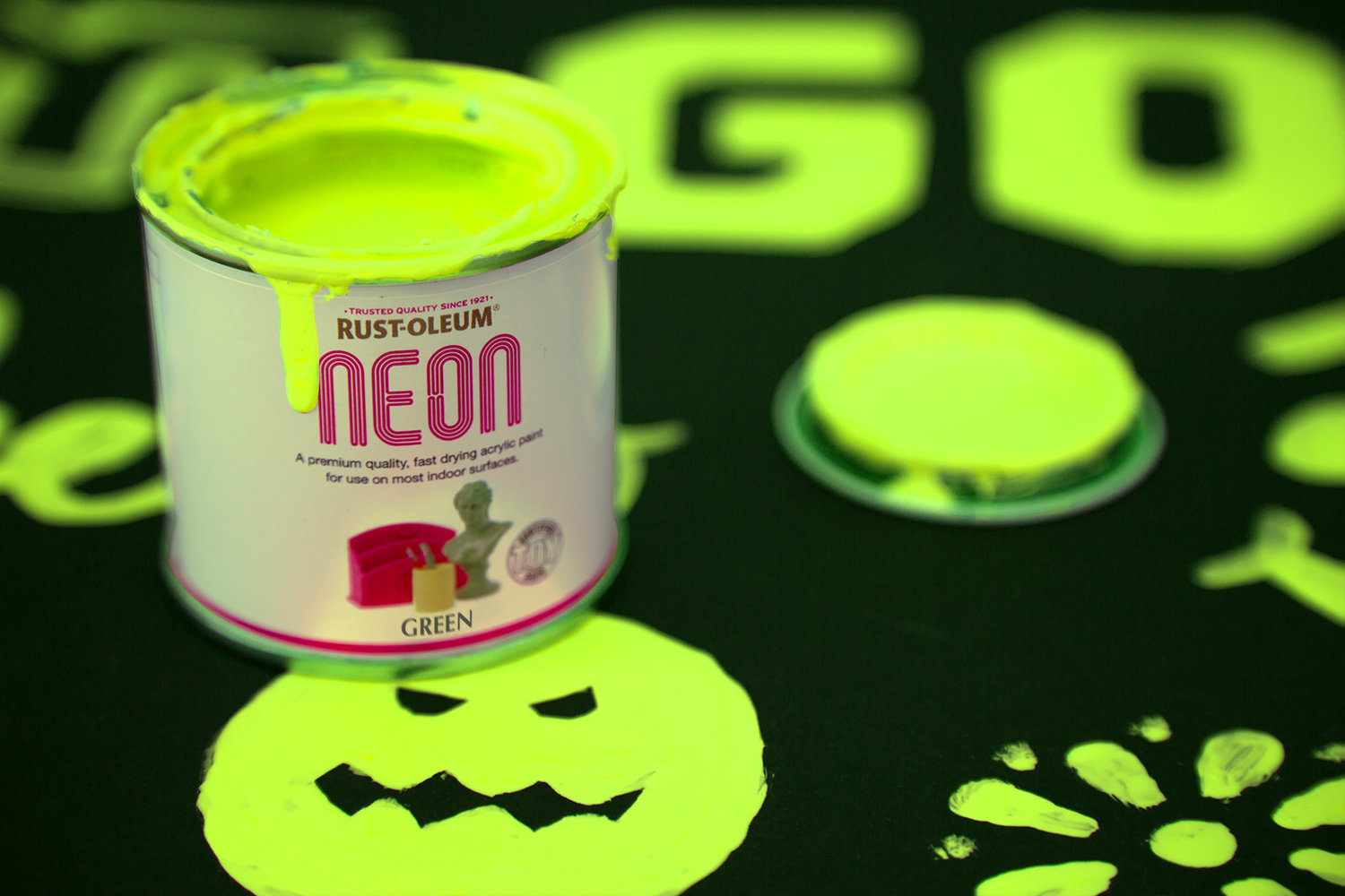 Rust Oleum Neon Spray Paint