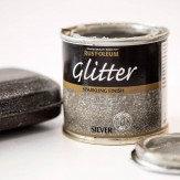 Glitter Paint Silver 125ml
