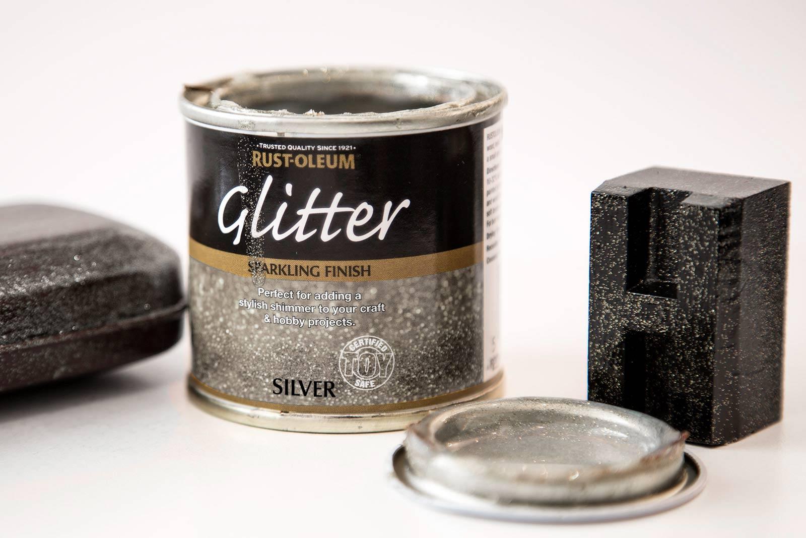 Glitter Paint Silver 125ml by Designer Paint