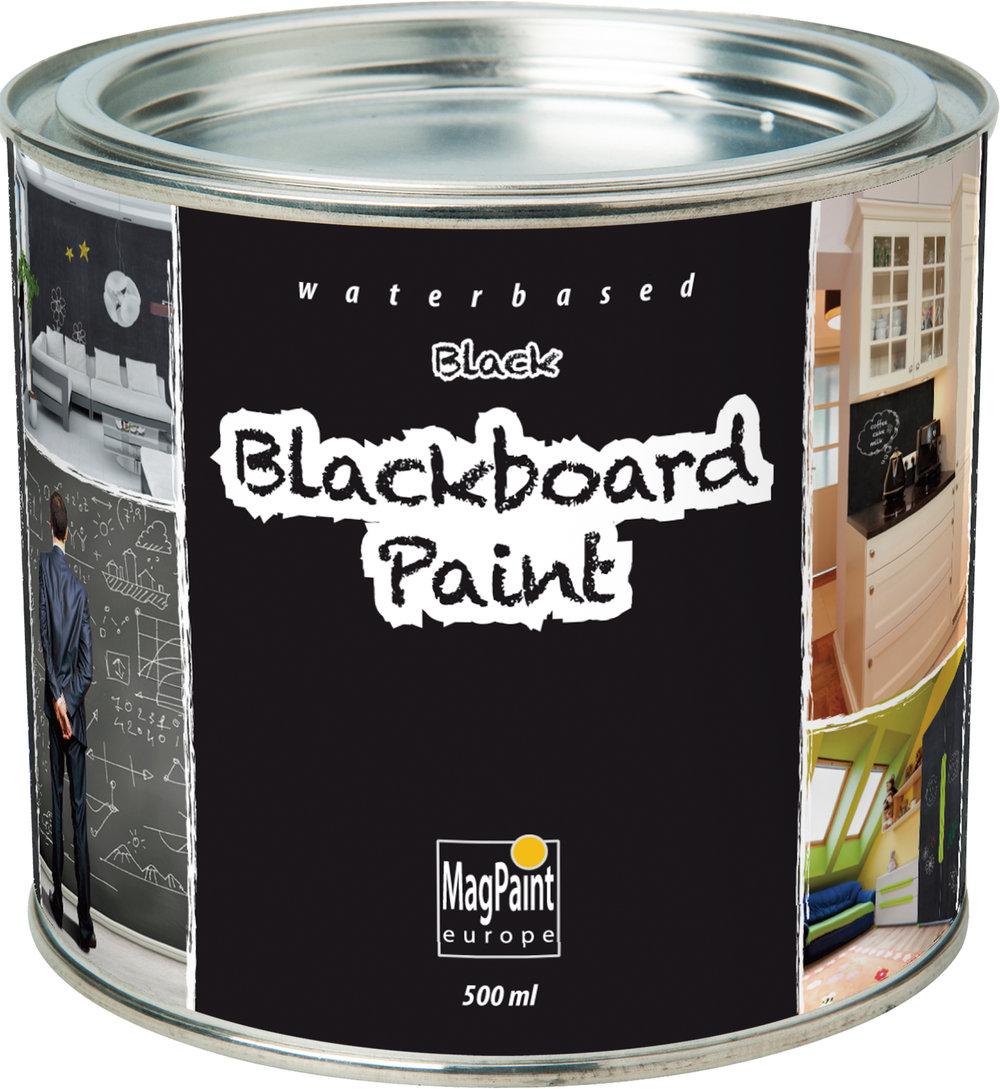 Magpaint Blackboard Paint Black 500ml