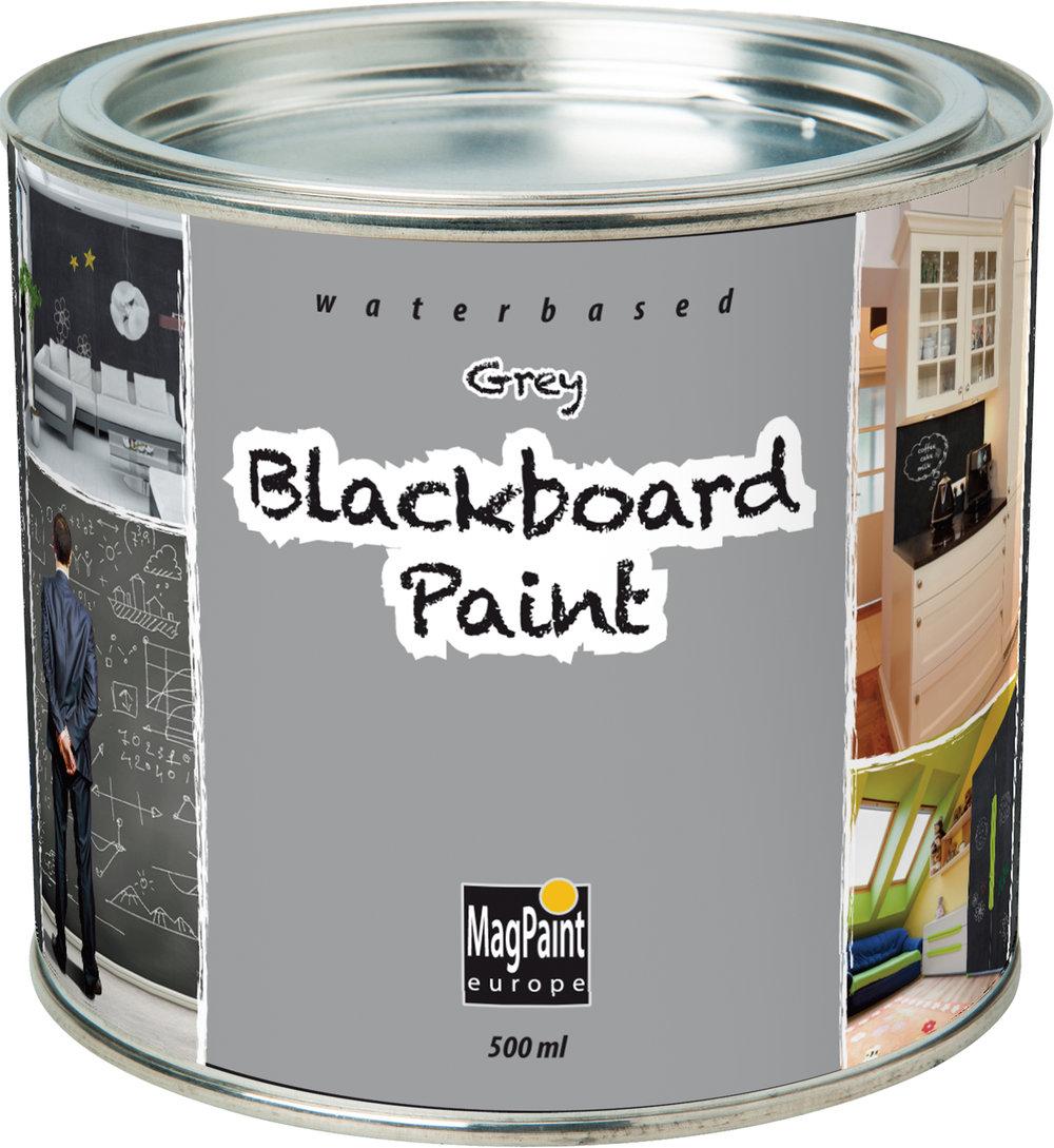 Nice Blackboard Paint Part - 12: Magpaint Blackboard Paint Grey 500ml