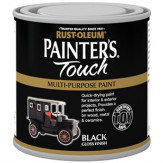 Rust-Oleum Painters Touch Black Gloss