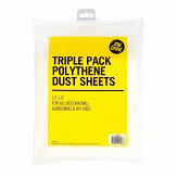 Rodo Poly Dust Sheet pack 3JTJDS3P