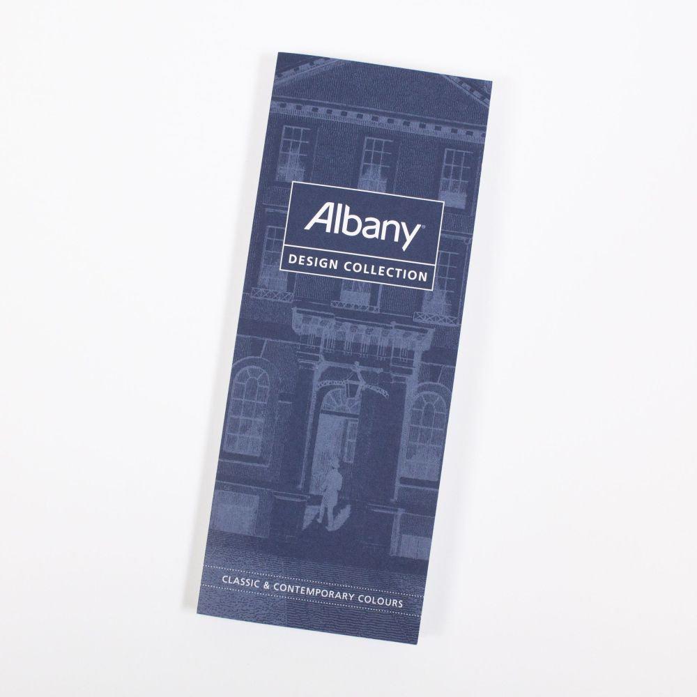 Albany Design Colour Card