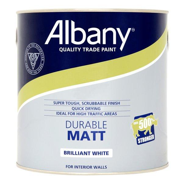 Durable Matt Brilliant White