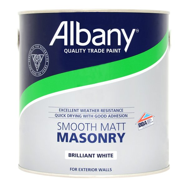Smooth Masonry Brilliant White