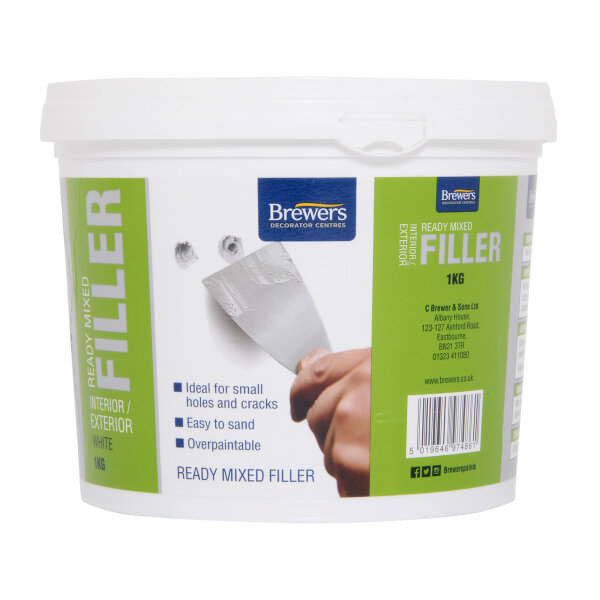 Ready Mixed Interior / Exterior Filler White